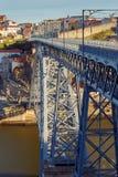Πόρτο Φορέστε τη γέφυρα του Luis Στοκ εικόνες με δικαίωμα ελεύθερης χρήσης