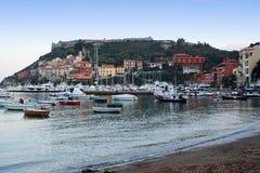 Πόρτο Ercole στην Τοσκάνη στην Ιταλία Στοκ φωτογραφίες με δικαίωμα ελεύθερης χρήσης