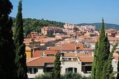 Πόρτο Ercole στην Τοσκάνη στην Ιταλία Στοκ Φωτογραφίες