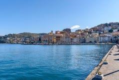 Πόρτο Santo Stefano, Τοσκάνη, Ιταλία Στοκ Εικόνες