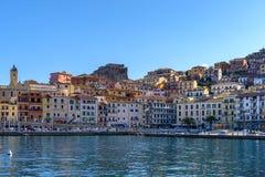 Πόρτο Santo Stefano, Τοσκάνη, Ιταλία Στοκ φωτογραφία με δικαίωμα ελεύθερης χρήσης