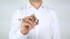 Πόσοι περισσότεροι; , Επιχειρηματίας που γράφει στο γυαλί απόθεμα βίντεο