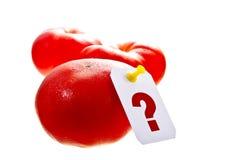 Πόσο είναι οι ντομάτες στοκ εικόνα