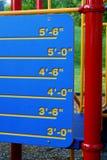 πόσο ψηλός εσείς στοκ φωτογραφία με δικαίωμα ελεύθερης χρήσης