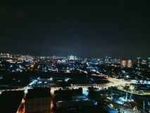 Πόλεις τη νύχτα στοκ φωτογραφίες