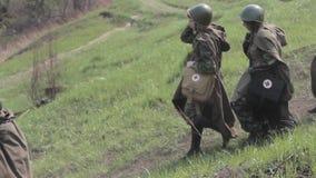 Πόλεμος Ο δεύτερος παγκόσμιος πόλεμος Έκδοση οθόνης απόθεμα βίντεο
