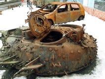 Πόλεμος στην Ουκρανία Στοκ Εικόνες