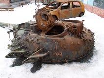 Πόλεμος στην Ουκρανία Στοκ φωτογραφία με δικαίωμα ελεύθερης χρήσης