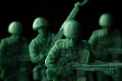 Πόλεμος στρατιωτών παιχνιδιών Στοκ Φωτογραφίες