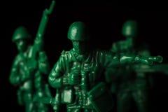 Πόλεμος στρατιωτών παιχνιδιών Στοκ φωτογραφία με δικαίωμα ελεύθερης χρήσης