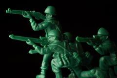 Πόλεμος στρατιωτών παιχνιδιών Στοκ εικόνα με δικαίωμα ελεύθερης χρήσης
