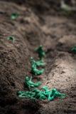 Πόλεμος στρατιωτών παιχνιδιών Στοκ Εικόνες