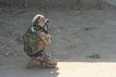Πόλεμος του Αφγανιστάν Στοκ Εικόνα