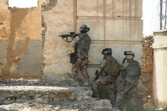 Πόλεμος του Αφγανιστάν στοκ φωτογραφία