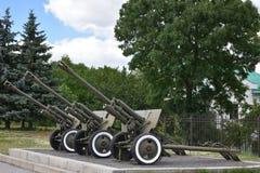 Πόλεμος όπλων δεξαμενών πυροβόλων όπλων Στοκ φωτογραφία με δικαίωμα ελεύθερης χρήσης