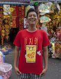 Πόλης αγορά της Κίνας Στοκ Φωτογραφίες