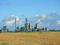 Πόλης βιομηχανική περιοχή Klaipeda Στοκ Εικόνες