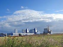 Πόλης βιομηχανική περιοχή Klaipeda Στοκ Φωτογραφία