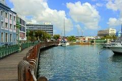Πόλης κέντρο Bridgetown, Μπαρμπάντος Στοκ εικόνες με δικαίωμα ελεύθερης χρήσης
