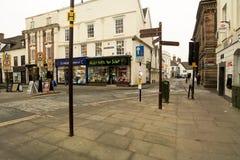 Πόλης κέντρο Bridgnorth, Shropshire Στοκ εικόνα με δικαίωμα ελεύθερης χρήσης
