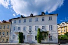 Πόλης μουσείο - Marianske Lazne Στοκ Εικόνες