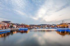 Πόλης νύχτα dangkou Wuxi Στοκ φωτογραφία με δικαίωμα ελεύθερης χρήσης