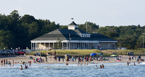 Πόλης παραλία, Narragansett, RI Στοκ εικόνες με δικαίωμα ελεύθερης χρήσης
