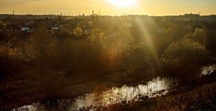 Πόλης τοπίο Στοκ Φωτογραφία