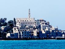 Πόλη †‹â€ ‹Jaffa πέρα από τη θάλασσα 2012 Στοκ εικόνα με δικαίωμα ελεύθερης χρήσης
