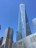 Πόλη ένα της Νέας Υόρκης World Trade Center Στοκ φωτογραφία με δικαίωμα ελεύθερης χρήσης