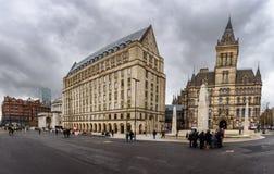 Πόλη αίθουσα-Αγγλία του Μάντσεστερ Στοκ φωτογραφία με δικαίωμα ελεύθερης χρήσης