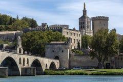Πόλη Αβινιόν - της Γαλλίας στοκ φωτογραφίες