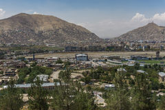 Πόλη Αφγανιστάν του Καμπούλ στοκ εικόνα