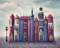 Πόλη βιβλίων Στοκ φωτογραφία με δικαίωμα ελεύθερης χρήσης