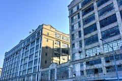 Πόλη βιομηχανίας - Μπρούκλιν Στοκ φωτογραφία με δικαίωμα ελεύθερης χρήσης