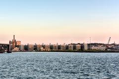 Πόλη βιομηχανίας - Μπρούκλιν Στοκ εικόνα με δικαίωμα ελεύθερης χρήσης