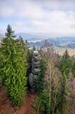 Πόλη βράχου κοντά σε Teplice, Δημοκρατία της Τσεχίας στοκ φωτογραφίες με δικαίωμα ελεύθερης χρήσης