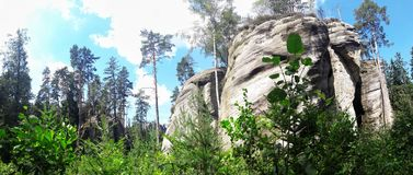 Πόλη βράχου Στοκ φωτογραφία με δικαίωμα ελεύθερης χρήσης