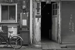 Πόλη εστιατορίων Στοκ φωτογραφίες με δικαίωμα ελεύθερης χρήσης