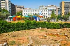 πόλη Ελλάδα της Αθήνας Στοκ Εικόνες