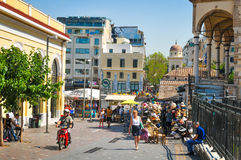 πόλη Ελλάδα της Αθήνας Στοκ Φωτογραφίες