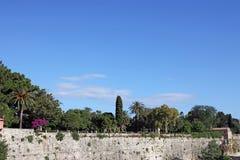 Πόλη Ελλάδα της Κέρκυρας πάρκων Στοκ Φωτογραφία