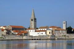 Πόλη θάλασσας Porec, Κροατία Στοκ φωτογραφία με δικαίωμα ελεύθερης χρήσης