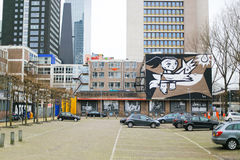 Πόλη Κάτω Χώρες του Ρότερνταμ Στοκ φωτογραφίες με δικαίωμα ελεύθερης χρήσης