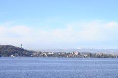 Πόλη και λίμνη του Annecy Στοκ εικόνα με δικαίωμα ελεύθερης χρήσης