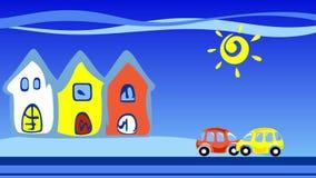 Πόλη και αυτοκίνητα φιλμ μικρού μήκους