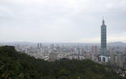 Πόλη και 101 της Ταϊπέι Στοκ Φωτογραφίες