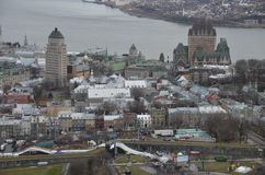 πόλη Κεμπέκ του Καναδά Στοκ Εικόνα