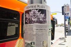 Πόλη κεντρικό Plaza του Λος Άντζελες Κίνα Στοκ εικόνες με δικαίωμα ελεύθερης χρήσης