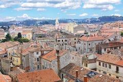 Πόλη Κροατία Porec στοκ φωτογραφία με δικαίωμα ελεύθερης χρήσης